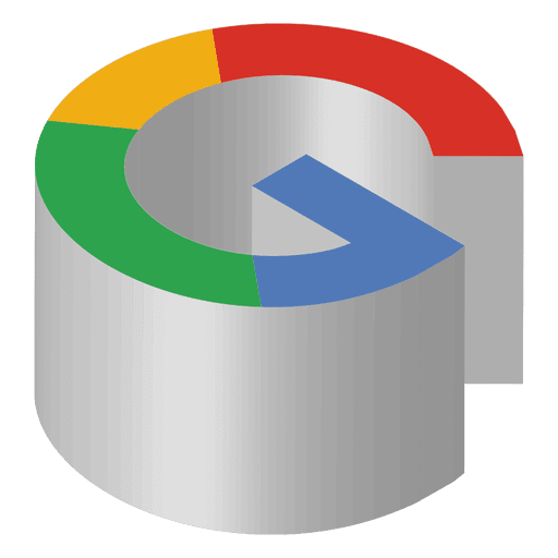 Google Isometric Icon