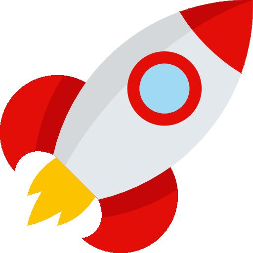Rocket Icon Travel And Places Emoticons Freepik