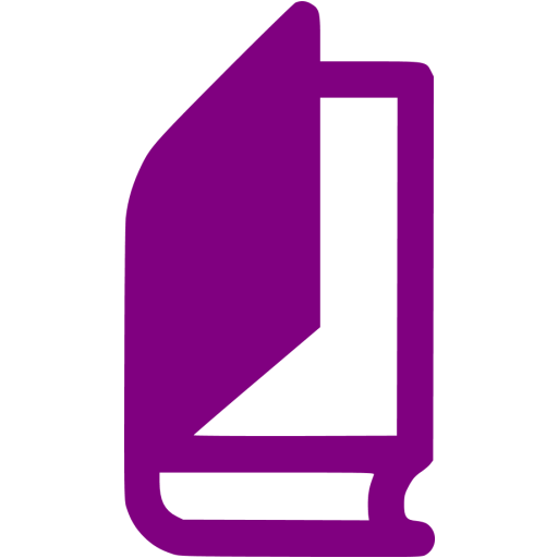 Purple Book Icon