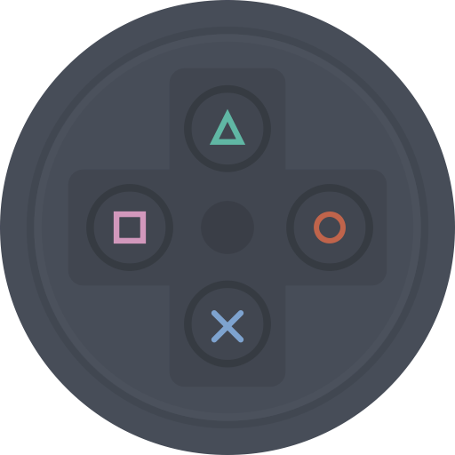 Console, Play, Games, Controller, Sony, Playstation, Video Games Icon