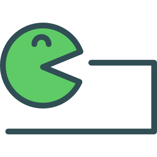 Pacman, Games, Button Icon