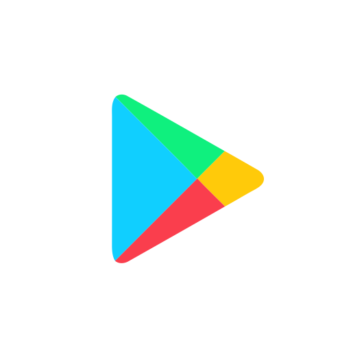 Google Play, Online, Store Icon With Png And Vector Format