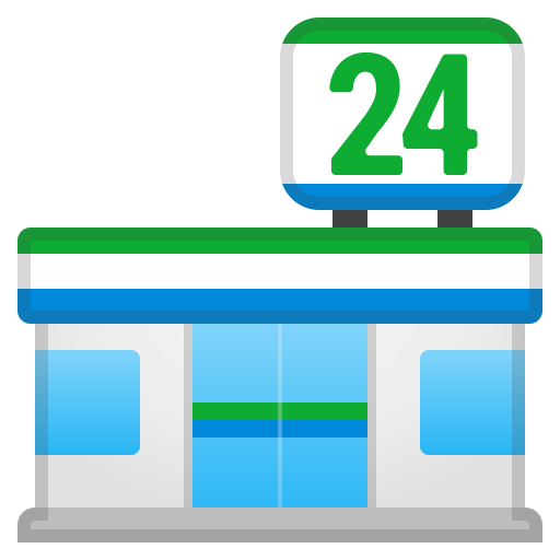 Convenience Store Icon Noto Emoji Travel Places Iconset Google