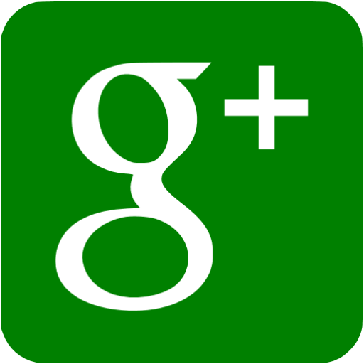 Green Google Plus Icon
