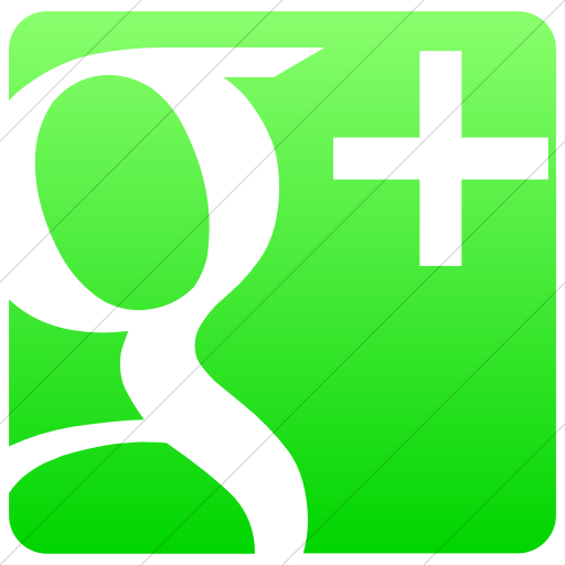 Simple Ios Neon Green Gradient Raphael Google Plus Icon