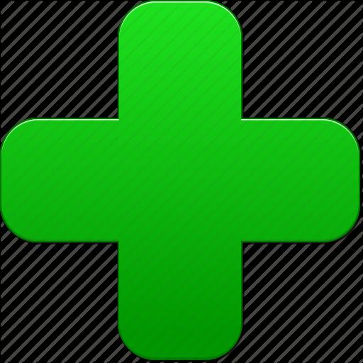 Add, Green Cross, Health, Hospital, Medical Symbol, New, Plus Icon