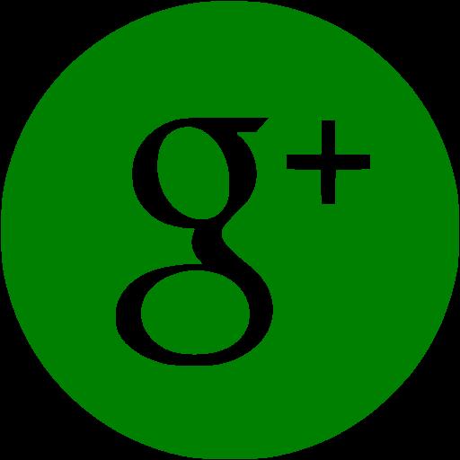 Green Google Plus Icon