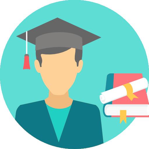 Graduate Free Vector Icons Designed