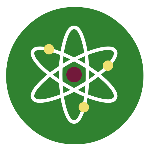Scholar, Science, Atom Icon Free Of Super Flat Remix Apps