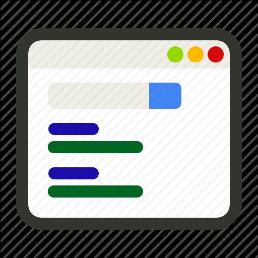Engine, Google, List, Online, Result, Search Icon