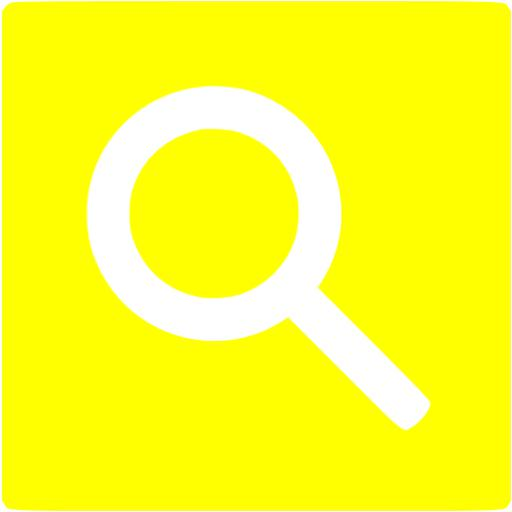 Search Icon Yellow