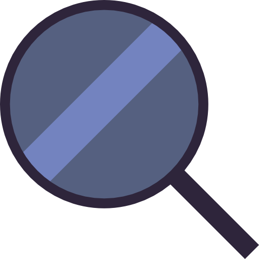 Detective, Search, Magnifying Glass Icon