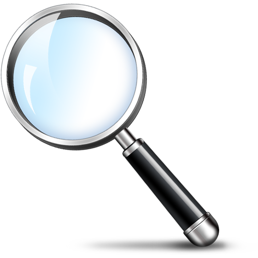 Free Magnifying Glass Search Icon