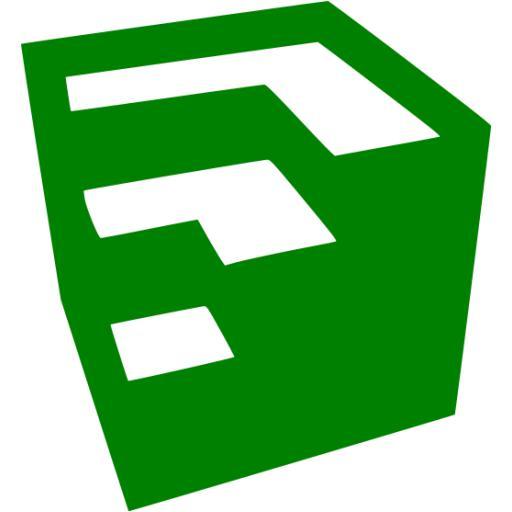 Green Google Sketchup Icon