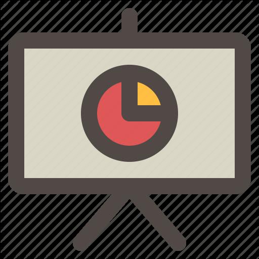 Board, Chart, Meeting, Presentation, Slides, Slideshow Icon