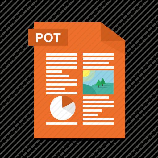 , Format, Pot, Power Point, Powerpoint, Presentation, Slides Icon