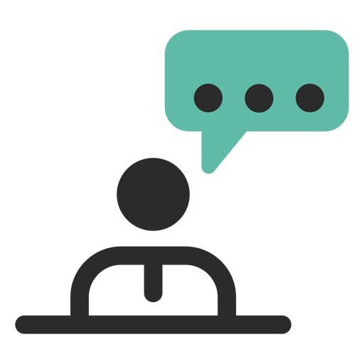 Personal Talk Contact Icon