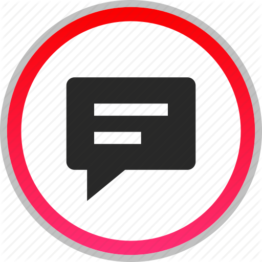 Bubble, Chat, Conversation, Talk Icon Icons Flat Style
