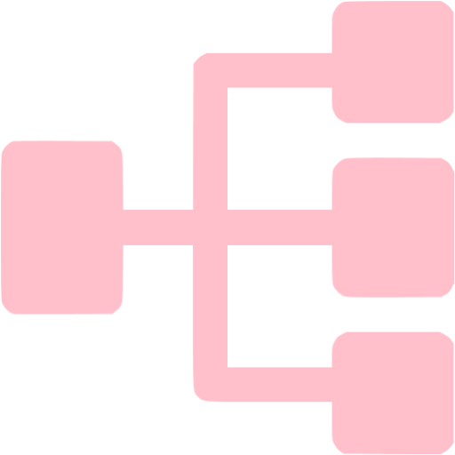 Pink Parallel Tasks Icon