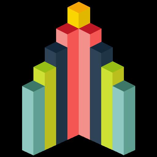 Analytics, Infographic, Business, Trends Icon