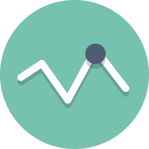 Chart, Graph, Trends Icon