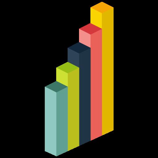 Trends, Business, Infographic, Analytics Icon