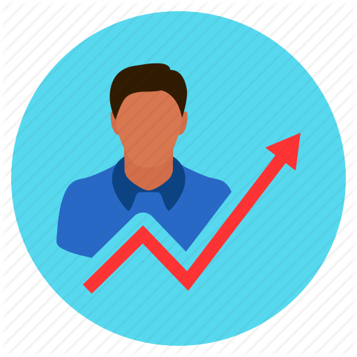 Chart, Growth, Increase, Investor, User Icon