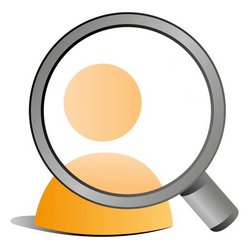 Magnifier User Icon