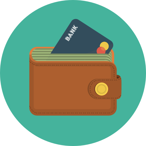 Wallet Icon Flat Iconset Flat