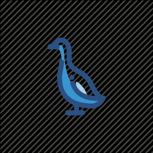 Animal, Bird, Goose Icon