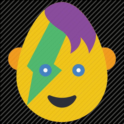 Cool, Dude, Emo, Emojis, First, Flash, Goth Icon