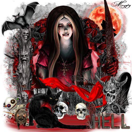 Photo Les Devil Woman Halloween Album Psp