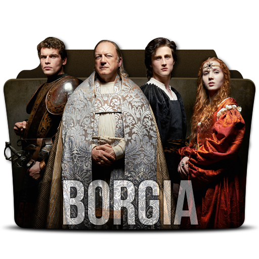 Borgia Icon Tv Series Folder Pack Iconset