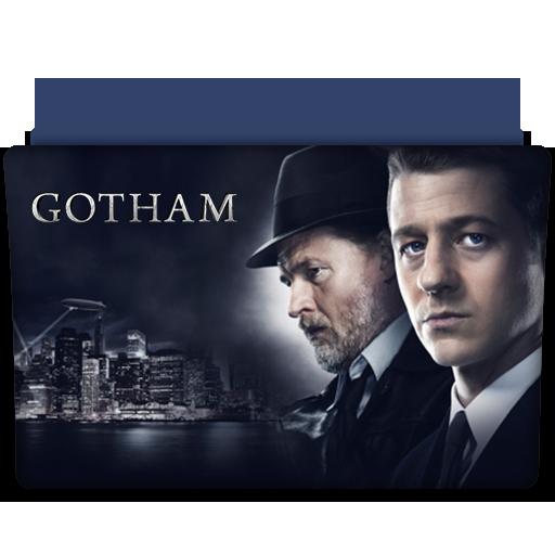 Gotham Tv Series Folder Icon
