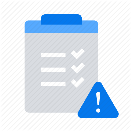 Governance, List, Risk, Warning Icon