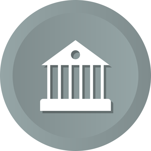Estate, Panteon, Building, Bank, Government, House, Real Icon