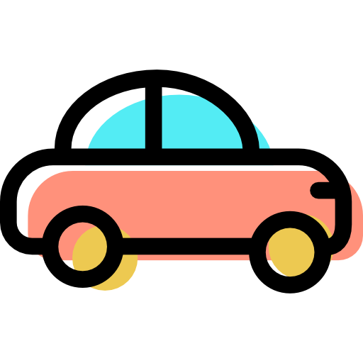 Transportation, Transport, Automobile, Vehicle, Car Icon