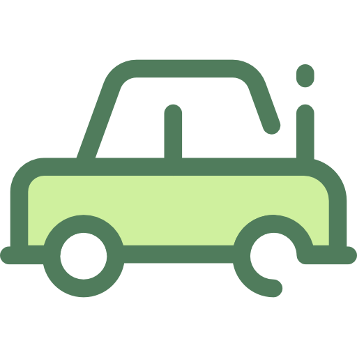 Transportation, Transport, Vehicle, Automobile, Car Icon