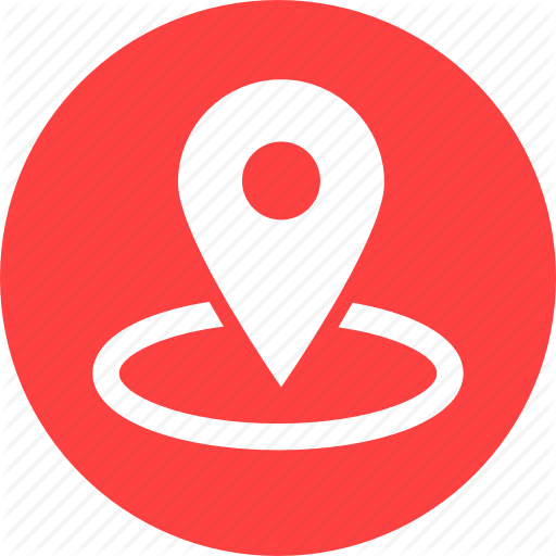 Gps, Location, Map, Marker, Navigation, Nearby, Red Icon