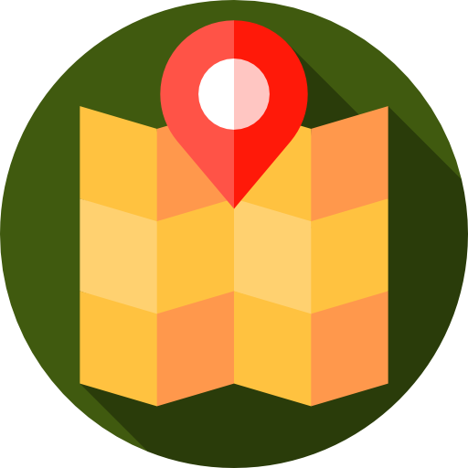 Map Pointer, Map, Gps Icon