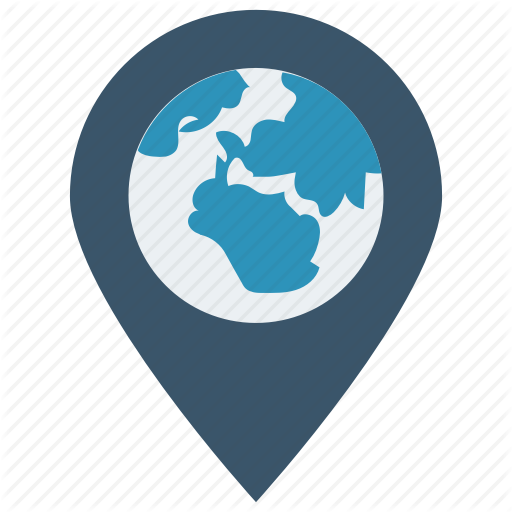 Gps, Location, Map, Pin, World Icon
