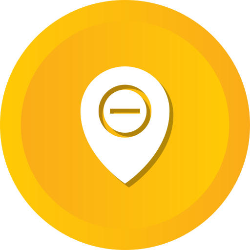Location, Map, Pin, Direction, Gps, Remove Icon Free Of Ios Web