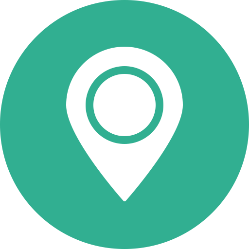 Location Direction Green Map Marker Navigation Gps Icon Logo Image