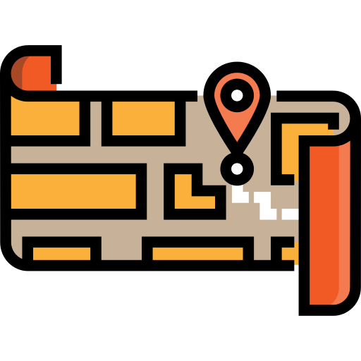 Street Map Gps Png Icon