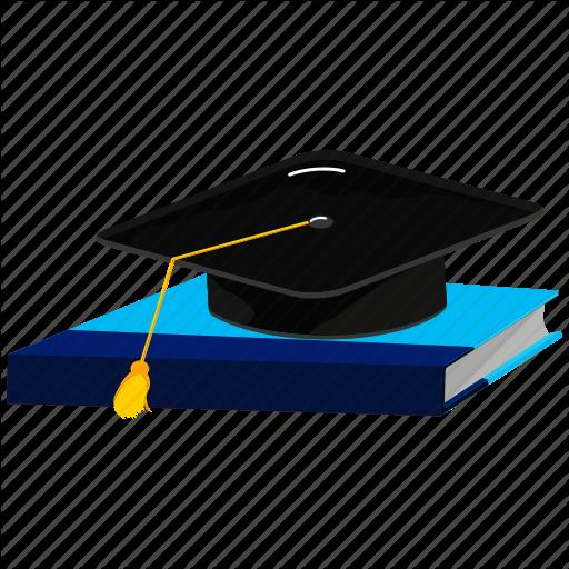 Books, Cap, Graduate, Graduation, Graduation Cap Icon
