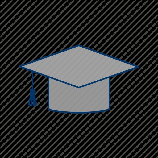 Diploma, Education, Graduation, Graduation Cap Icon
