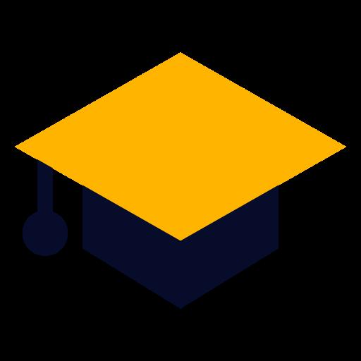 Graduation, Cap Icon Free Of Vivid