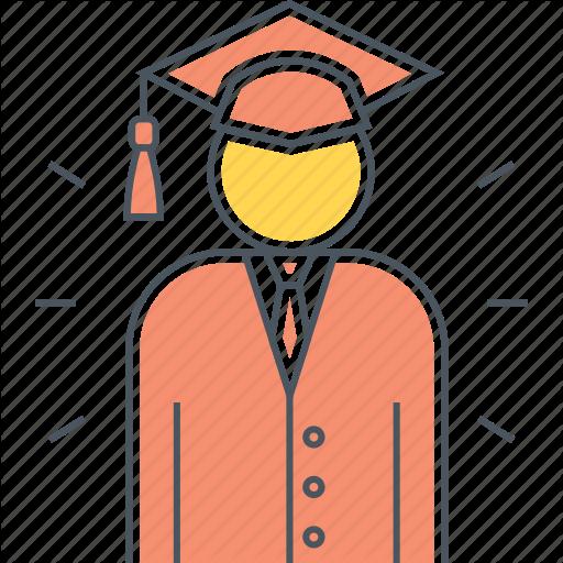 Fresh Grad, Fresh Graduate, Graduate, Mortarboard, Student Icon