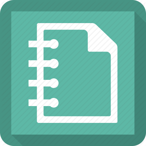 Gradebook, Notebook, Notepad, Notes Icon