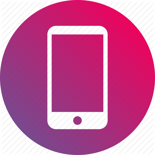 Cellphone, Gradient, Mobile, Phone, Smartphone, Telephone Icon